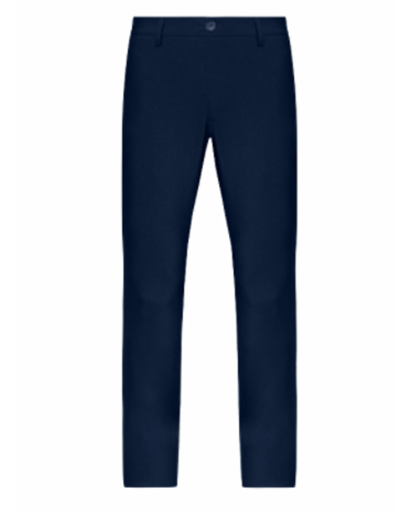 STONE ROSE Modern Fit Navy Stretch Dress Pant