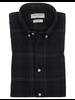 BRUUN & STENGADE Modern Fit Plaid Flannel Shirt