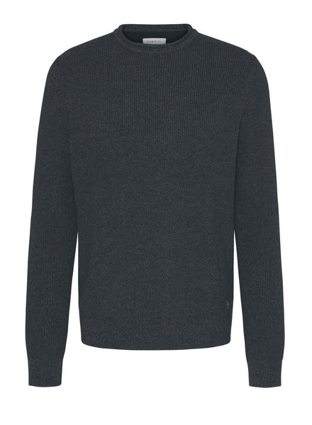 BUGATTI Grey Roll Neck Sweater