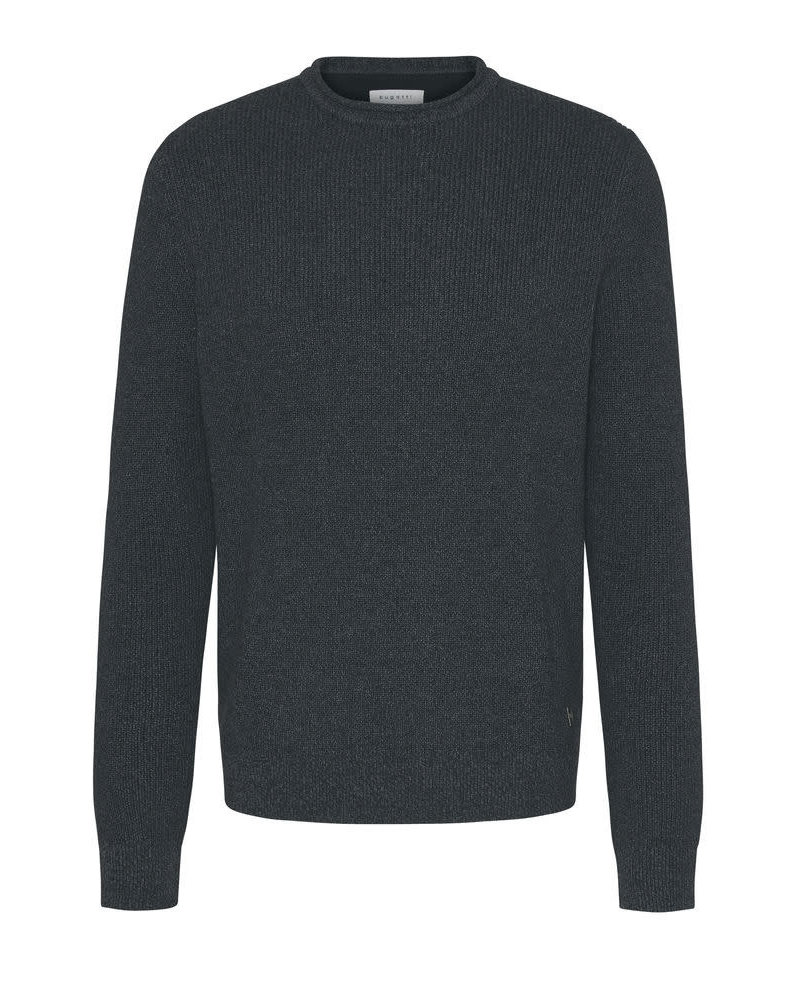 BUGATTI Grey Roll Neck Sweater