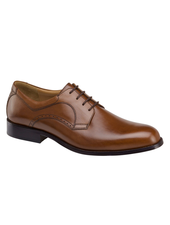 JOHNSTON & MURPHY Harmon Tan Plain Toe Shoe