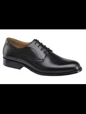 JOHNSTON & MURPHY Harmon Black Plain Toe Shoe