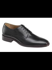 JOHNSTON & MURPHY Sanborn Black Plain Toe Shoe