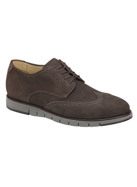 JOHNSTON & MURPHY Martell Brown Nubuck Shoe