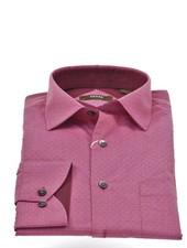 VERSA Modern Fit Red Neat Shirt