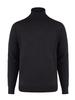 BRUUN & STENGADE Charcoal Wool Turtle Neck Sweater