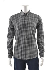 MICHAEL KORS Slim Fit Grey Block Shirt
