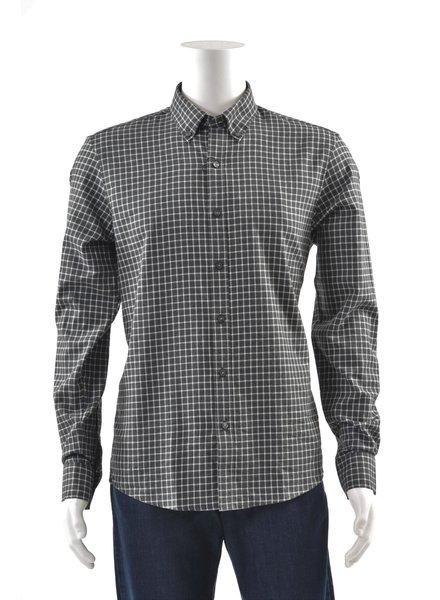 MICHAEL KORS Slim Fit Grey Block Shirt