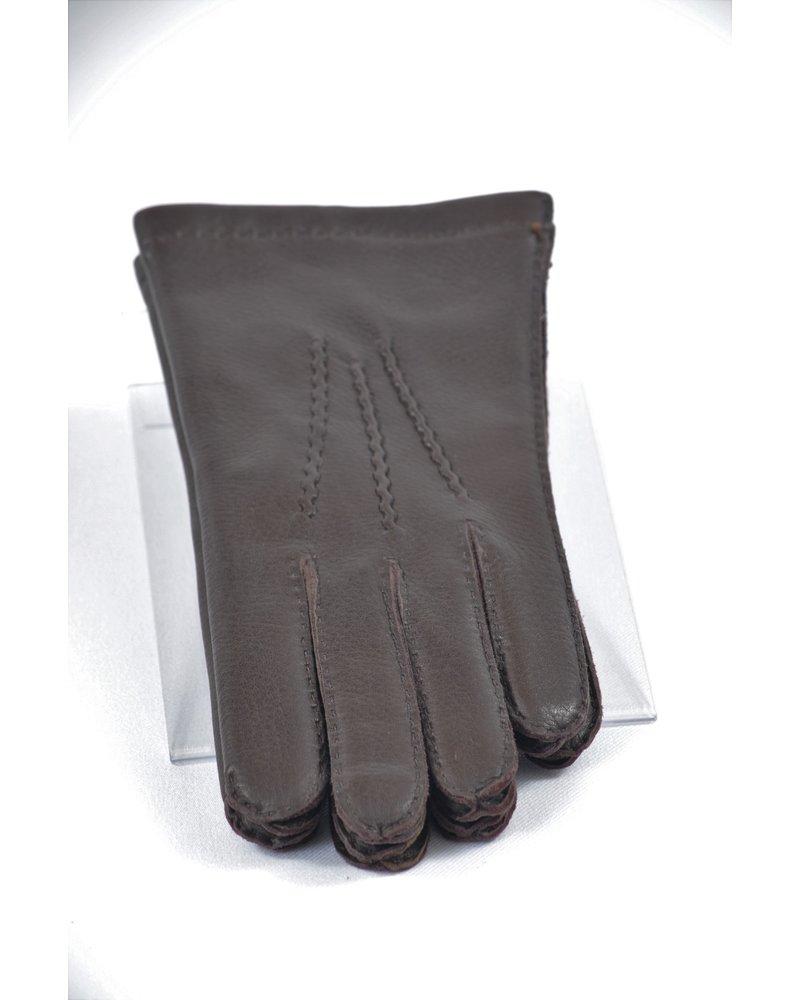 ALBEE Deer Skin Wool Lined Leather Glove