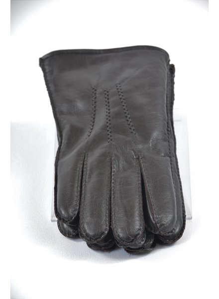 ALBEE Brown Lined Leather Glove