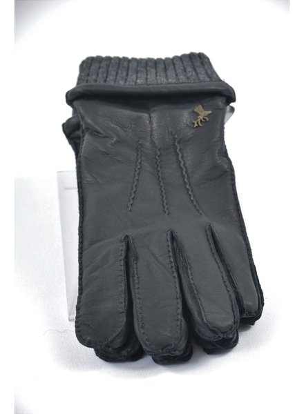 ALBEE Black Deer Skin Thinsulate Lined Leather Glove