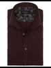 BRUUN & STENGADE Modern Fit Bordeaux Neat Shirt
