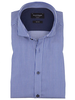 BRUUN & STENGADE Modern Fit Blue White Stripe Shirt