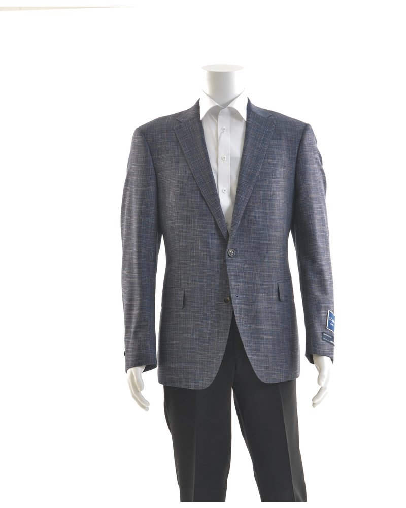 S COHEN Modern Fit Navy Mix Sport Coat