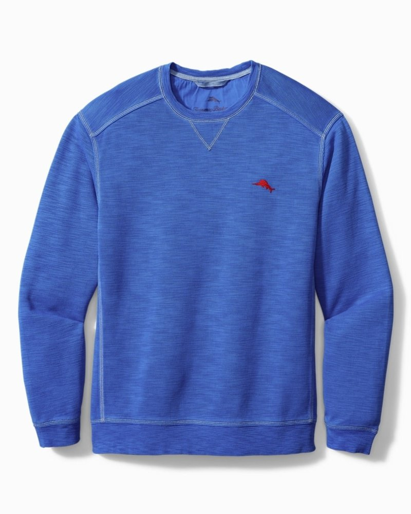 TOMMY BAHAMA Tobago Bay Crewneck Sweatshirt Cobalt