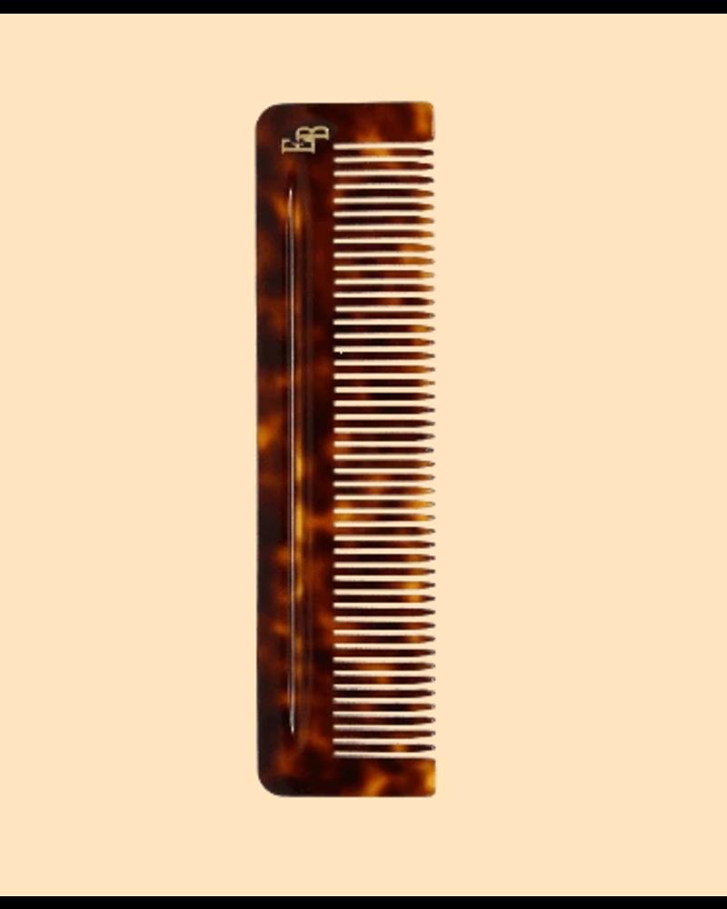 EDUCATED BEARD Cellulose Acetate Beard Comb