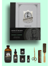 EDUCATED BEARD Book of Beards Peppermint & Cedarwood