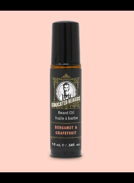 EDUCATED BEARD Beard Oil Bergamot & Grapefruit 10ml