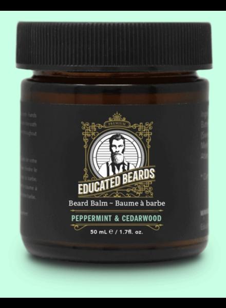 EDUCATED BEARD Beard Balm Peppermint & Cedarwood