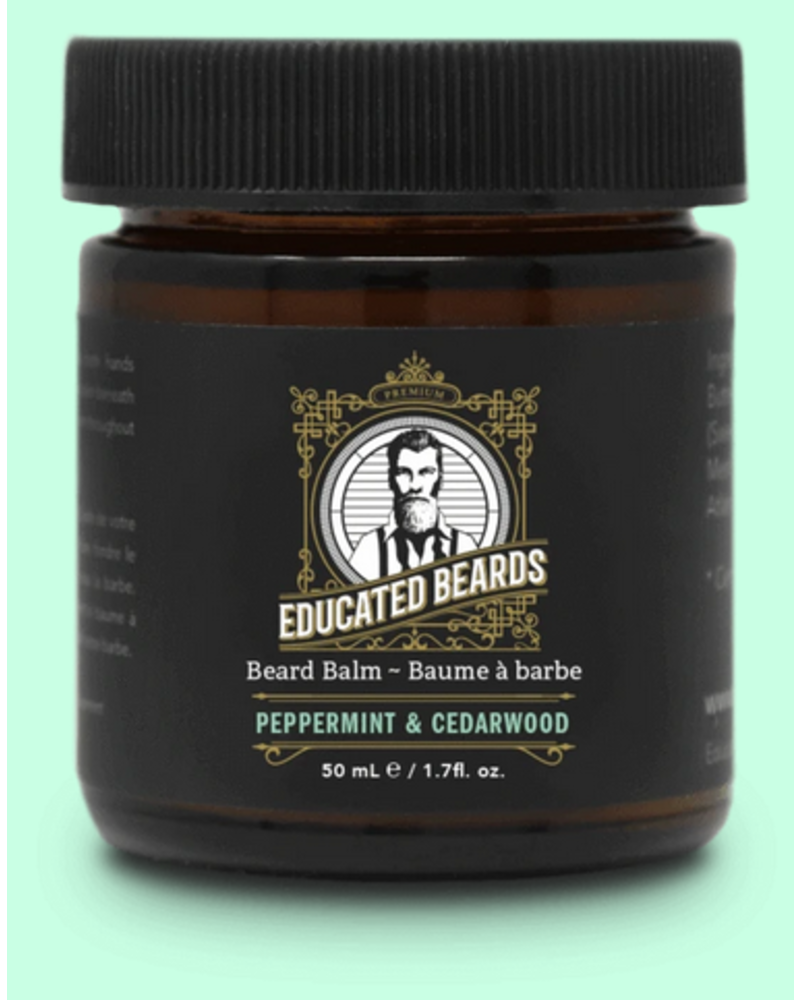EDUCATED BEARD Beard Balm Peppermint & Cedarwood