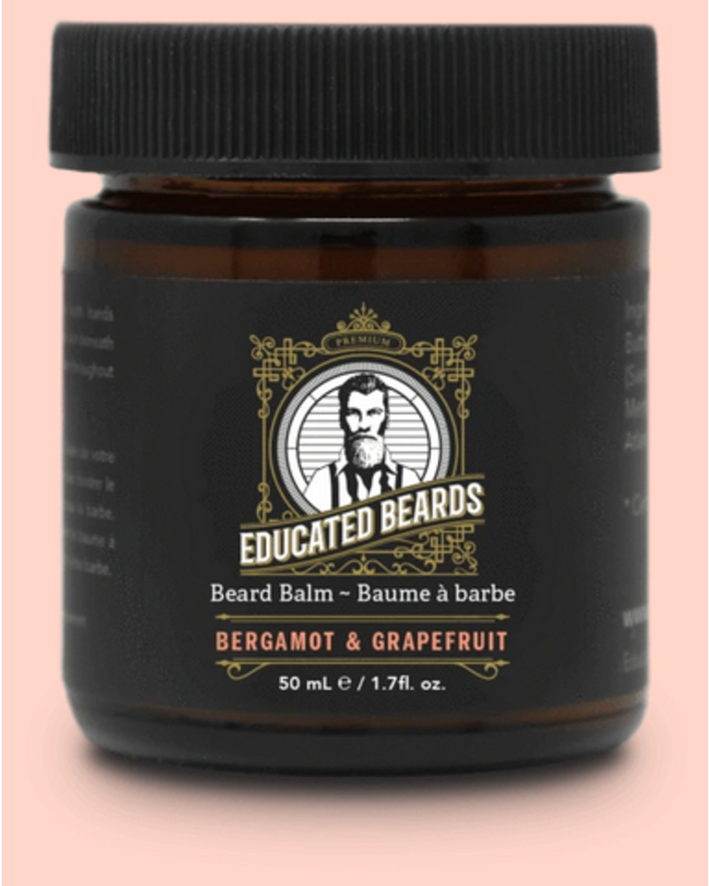 EDUCATED BEARD Beard Balm Bergamot & Grapefruit