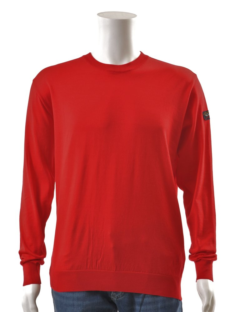 PAUL & SHARK Cotton Crew Neck Sweater