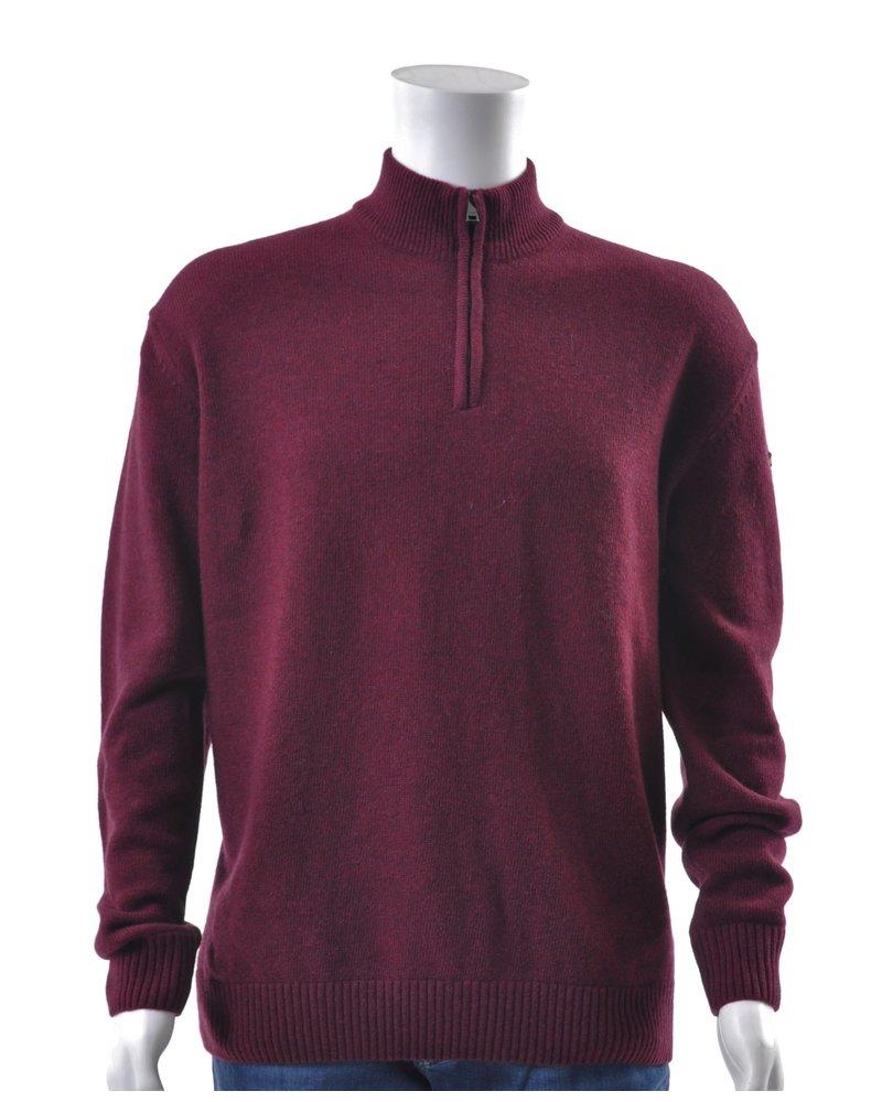 PAUL & SHARK Colours of Shetland 1/4 Zip Sweater