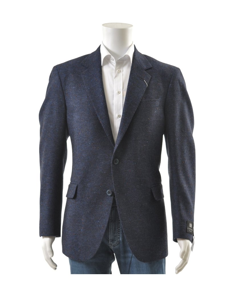 COPPLEY Classic Fit Blue Donegal Sport Coat