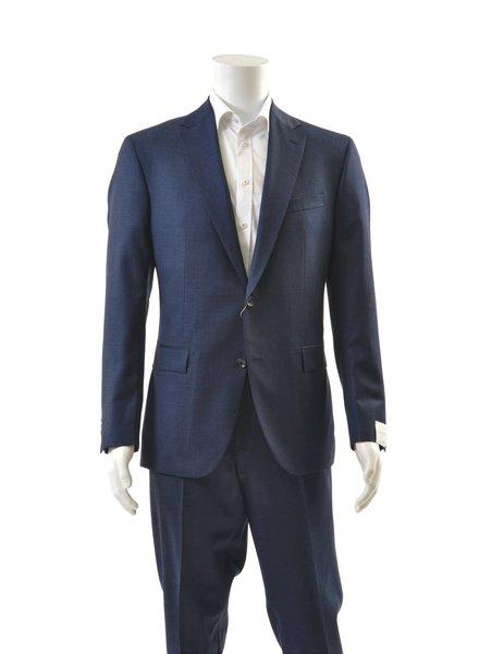 JACK VICTOR Modern Fit Navy Light Flannel Suit