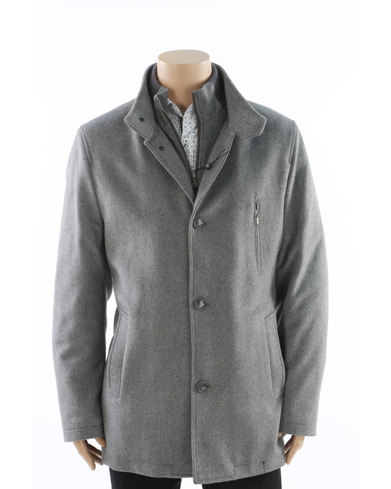 LIEF HORSENS Wool Blend Winter Casual Coat