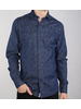 7 DOWNIE Floral Denim Shirt