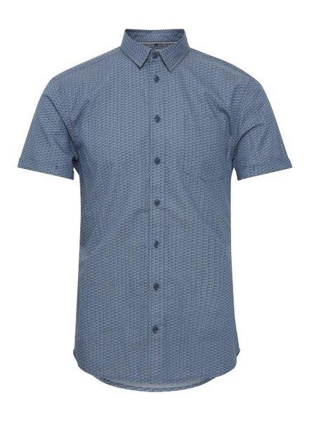 BLEND Slim Fit Blue Neat Shirt
