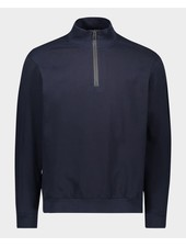 PAUL & SHARK Organic Cotton Navy 1/4 Zip Sweater