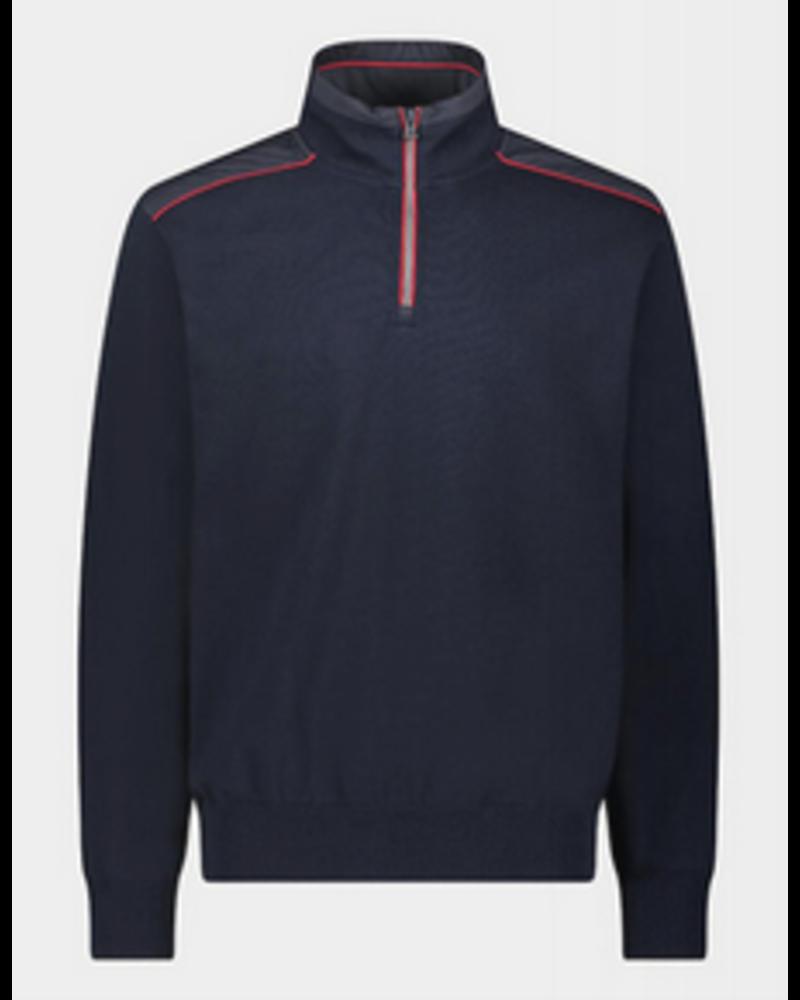 PAUL & SHARK Navy 1/4 Zip Sweater