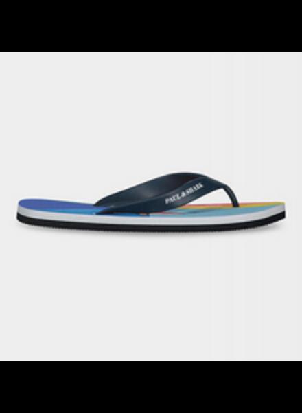 PAUL & SHARK Multi Colour Flip Flops