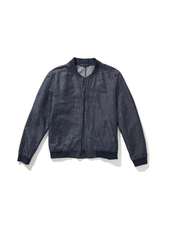 ROBERT BARAKETT Harrison Navy Bomber Jacket