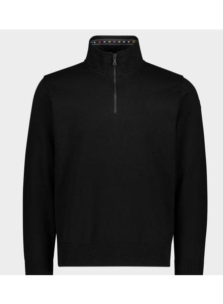 PAUL & SHARK Cotton Knit Solid 1/4 Zip Sweater