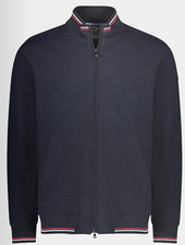 PAUL & SHARK Navy Water Shed Full Zip Sweater
