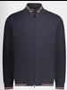 PAUL & SHARK Navy Water Shed Full Zip Sweater
