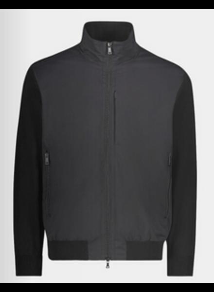 PAUL & SHARK Black Typhoon 20000 Full Zip Sweater
