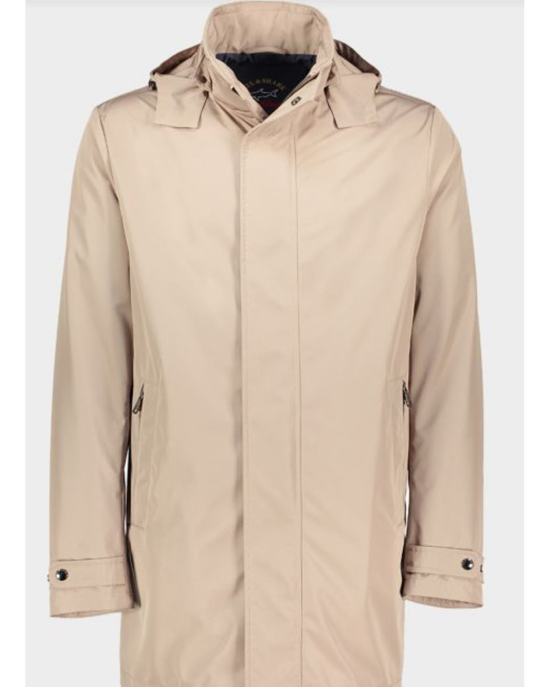 PAUL & SHARK Tan Urban Casual Coat