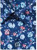 BUGATCHI UOMO Modern Fit Ooh Cotton Blue Floral Shirt