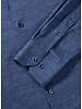 BUGATCHI UOMO Modern Fit Oooh Cotton Denim Blue Shirt