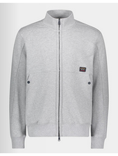 PAUL & SHARK Grey Watershed Full Zip Sweatshirt