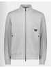 PAUL & SHARK Grey Water Shed Full Zip Sweatshirt