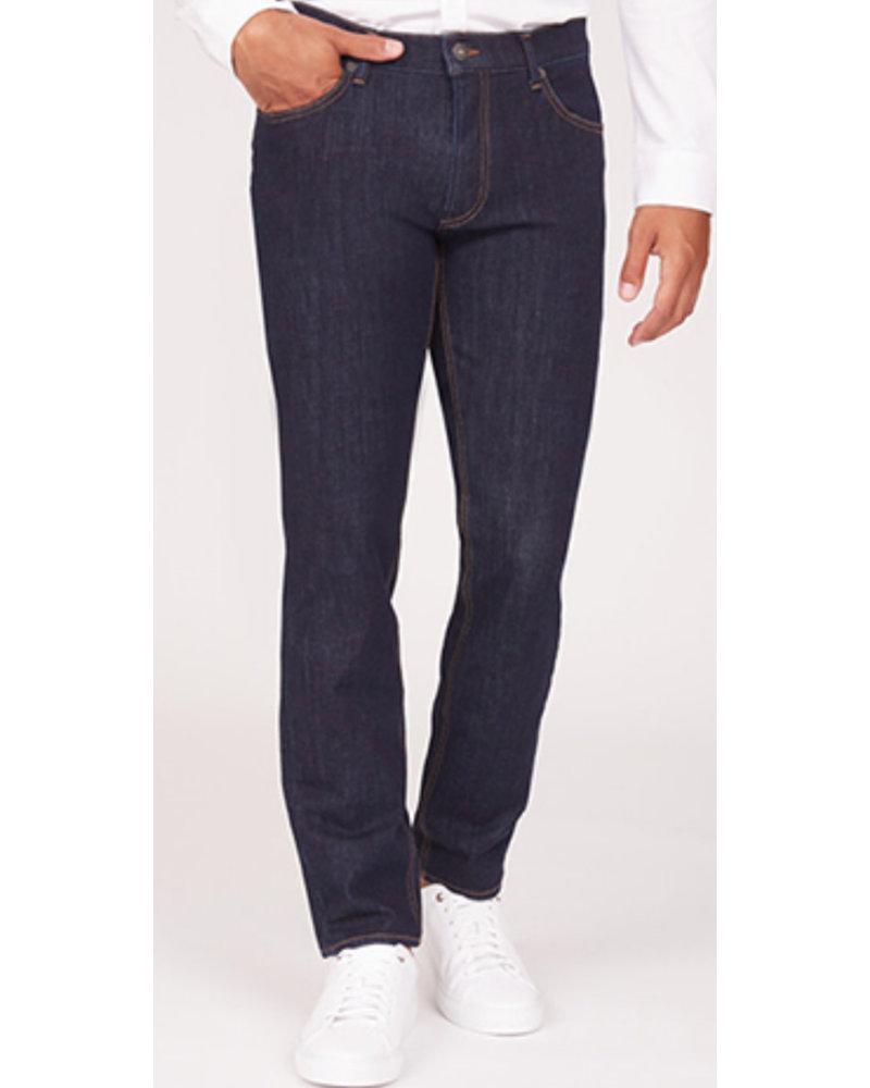 BRAX Slim Fit Hi Flex Raw Blue Jean