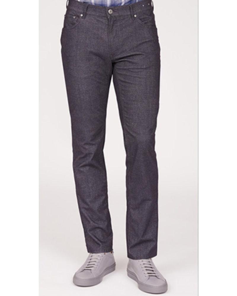 BRAX Slim Fit Black Hi Flex 5 Pocket Pant