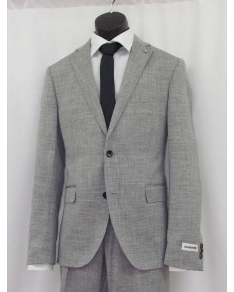 LAMBRETTA Slim Fit Light Grey Suit