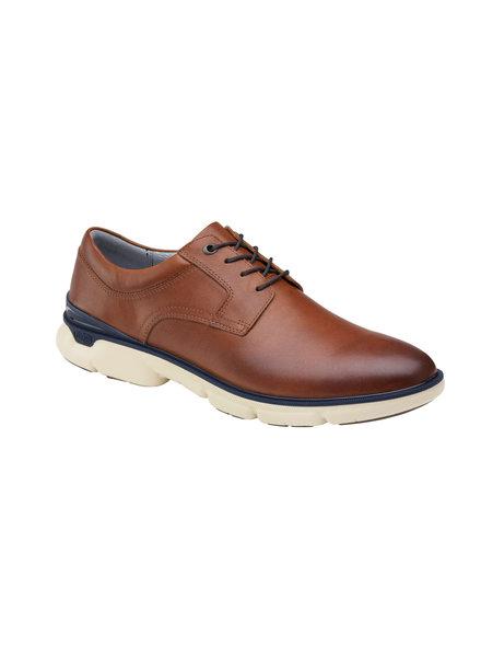 JOHNSTON & MURPHY Tanner Plain Toe Tan XC4 Shoe