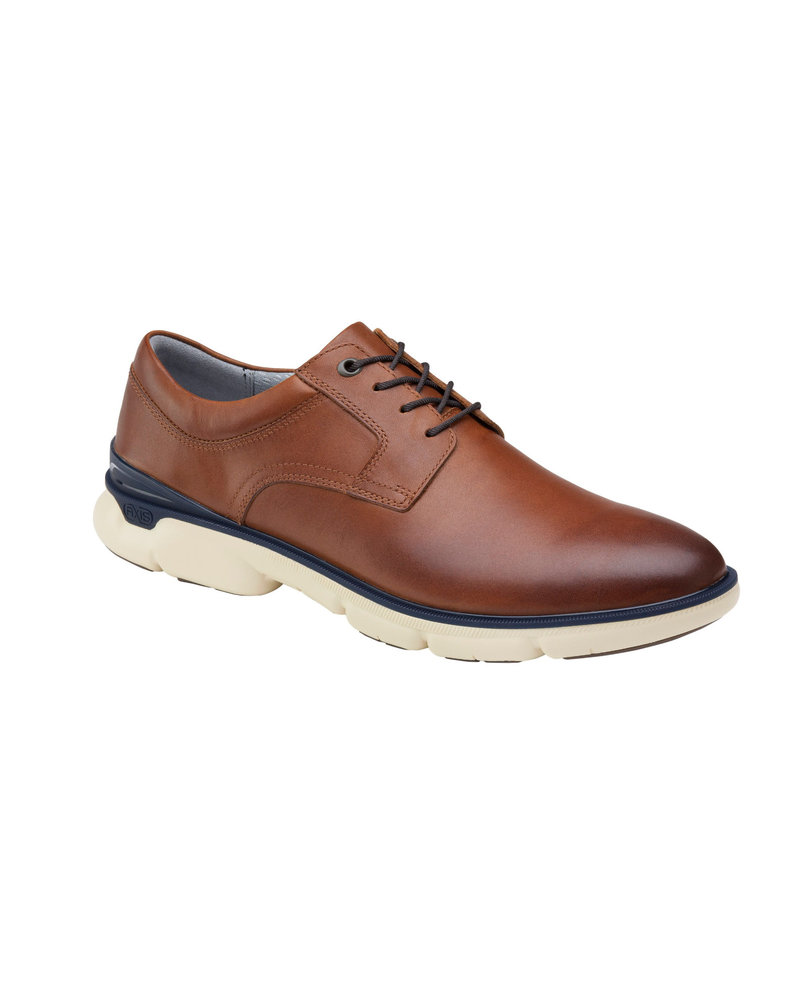 JOHNSTON & MURPHY Tanner Plain Toe Tan XC4 Shoe